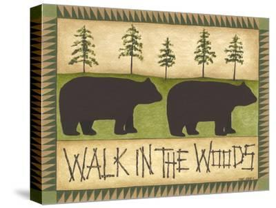 Walk in the Woods-Cindy Shamp-Stretched Canvas Print