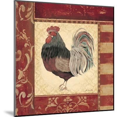 Red Rooster IV-Jo Moulton-Mounted Art Print