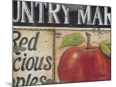 Country Market-Kim Lewis-Mounted Art Print