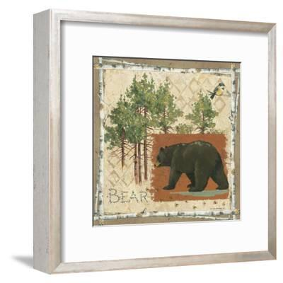 Black Bear-Anita Phillips-Framed Art Print