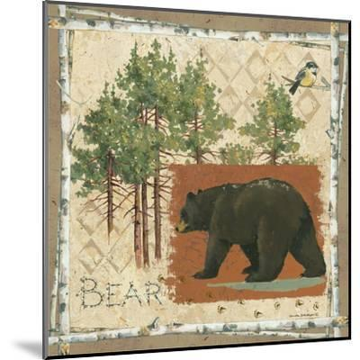 Black Bear-Anita Phillips-Mounted Art Print