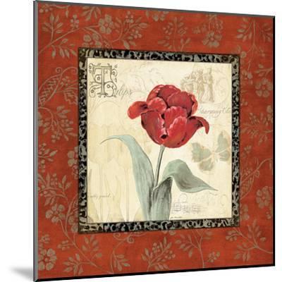 Royal Reds I-Jo Moulton-Mounted Art Print