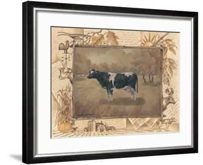 Cow-Anita Phillips-Framed Art Print