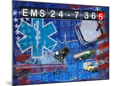Ems 24-7 365-Jim Baldwin-Mounted Art Print