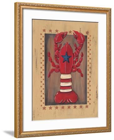 Lobster-Jo Moulton-Framed Art Print