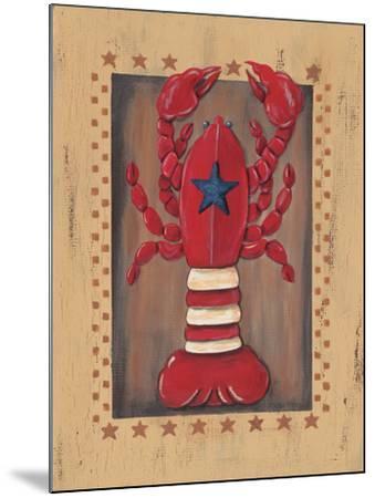 Lobster-Jo Moulton-Mounted Art Print