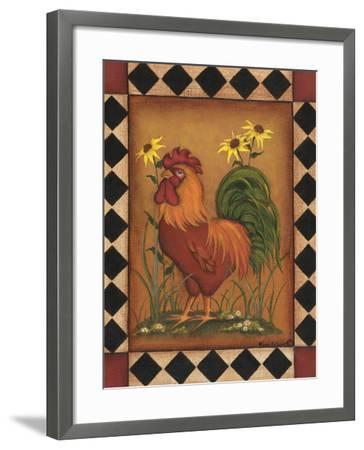 Red Rooster I-Kim Lewis-Framed Art Print