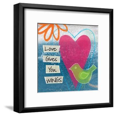 Love-Linda Woods-Framed Art Print