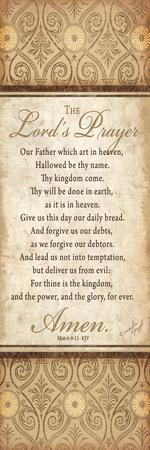 The Lord's Prayer-Jennifer Pugh-Stretched Canvas Print