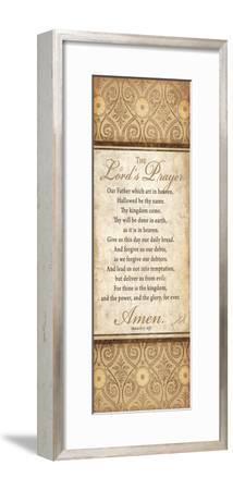 The Lord's Prayer-Jennifer Pugh-Framed Art Print