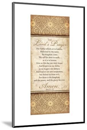 The Lord's Prayer-Jennifer Pugh-Mounted Art Print