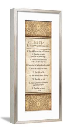 The Ten Commandments Art Print By Jennifer Pugh Artcom