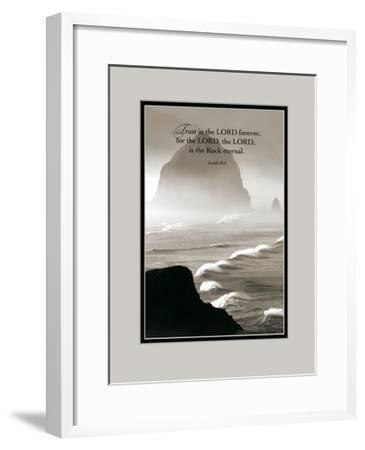 Trust in the Lord-Dennis Frates-Framed Art Print