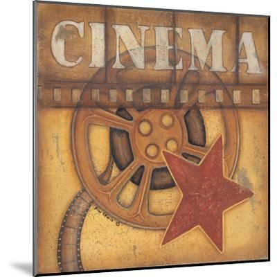 Cinema-Kim Lewis-Mounted Art Print
