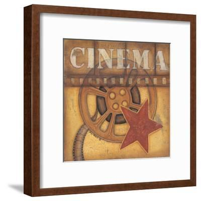 Cinema-Kim Lewis-Framed Art Print