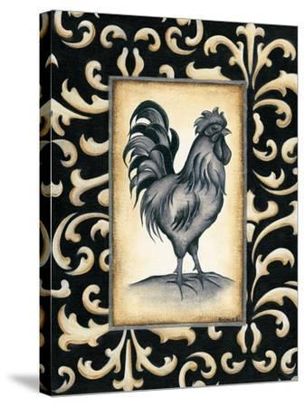 Rooster I-Kim Lewis-Stretched Canvas Print