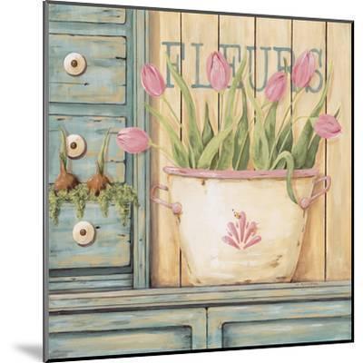 Fleurs-Jo Moulton-Mounted Art Print