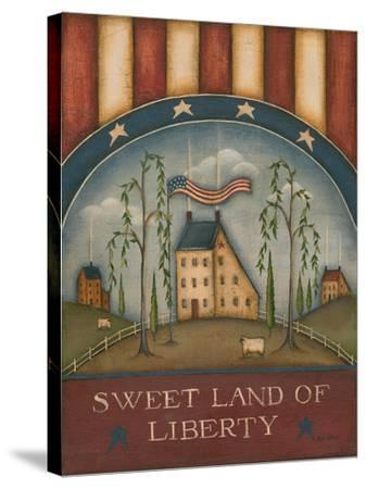 Sweet Land of Liberty-Kim Lewis-Stretched Canvas Print