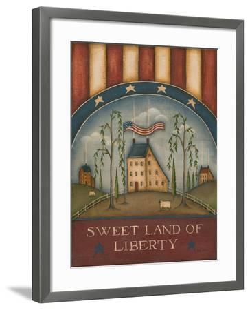 Sweet Land of Liberty-Kim Lewis-Framed Art Print