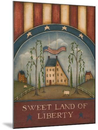 Sweet Land of Liberty-Kim Lewis-Mounted Art Print