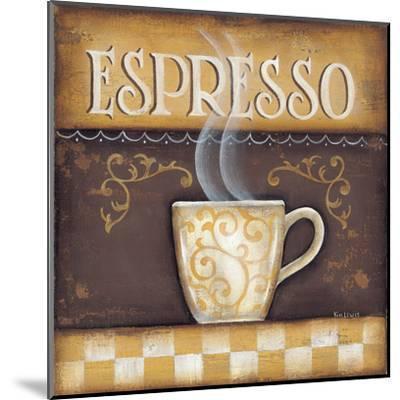 Espresso-Kim Lewis-Mounted Art Print