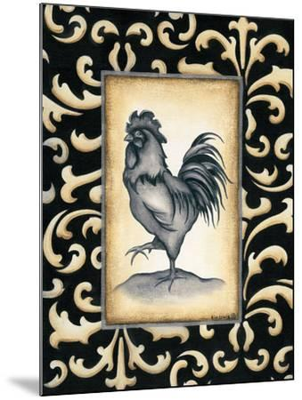 Rooster II-Kim Lewis-Mounted Art Print