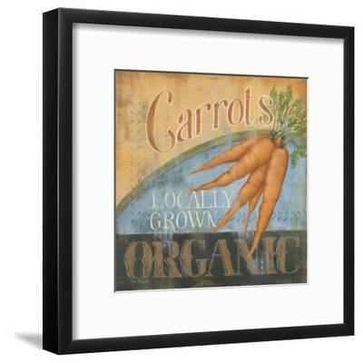 Carrots-Kim Lewis-Framed Art Print