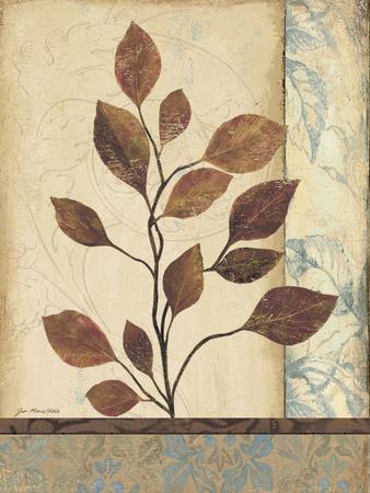 Earthern Blue II-Jo Moulton-Framed Art Print