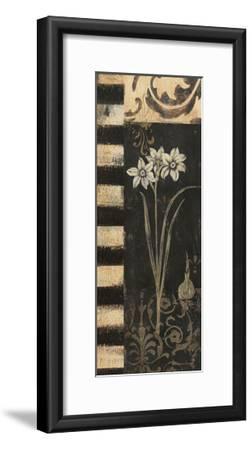 Black and White Paper Whites-Jo Moulton-Framed Art Print