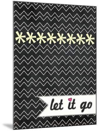 Let it Go-Jo Moulton-Mounted Art Print