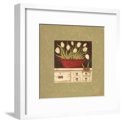 The White Cupboard-Jo Moulton-Framed Art Print