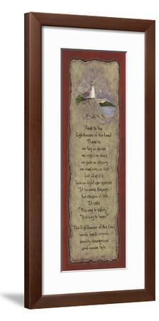 Lighthouse-Karen Tribett-Framed Art Print