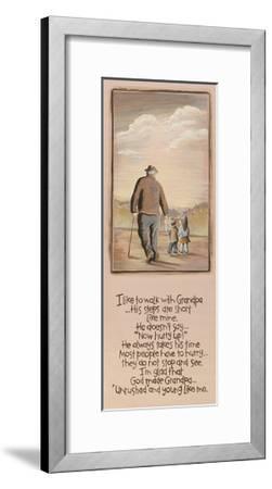 Grandpa-Karen Tribett-Framed Art Print