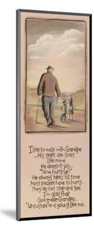 Grandpa-Karen Tribett-Mounted Art Print