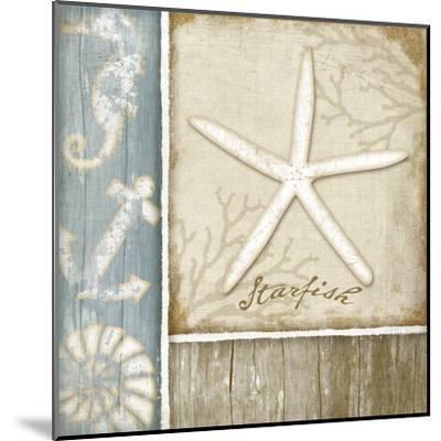 Starfish-Jennifer Pugh-Mounted Art Print