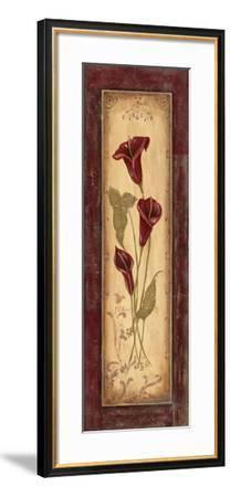Crimson Blooms I-Jo Moulton-Framed Art Print