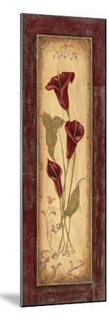 Crimson Blooms I-Jo Moulton-Mounted Art Print