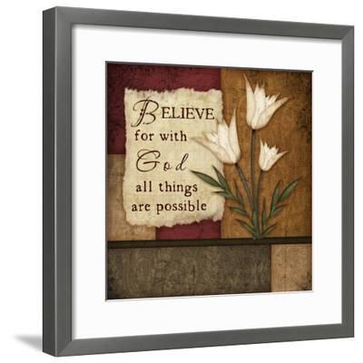 Believe-Jennifer Pugh-Framed Premium Giclee Print