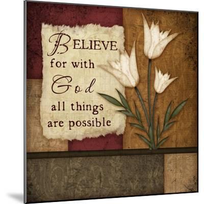 Believe-Jennifer Pugh-Mounted Premium Giclee Print