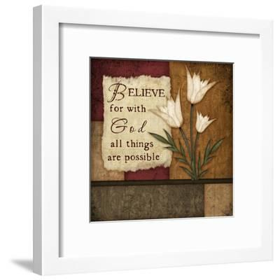Believe-Jennifer Pugh-Framed Art Print