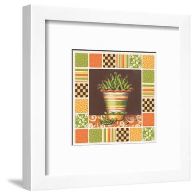 Peas-Kathy Middlebrook-Framed Art Print