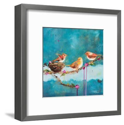 Morning-Ninalee Irani-Framed Art Print