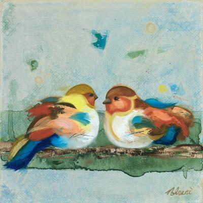 The One Who Sits Beside Me-Ninalee Irani-Framed Art Print