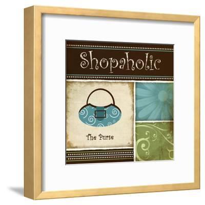Shopaholic-Jennifer Pugh-Framed Art Print
