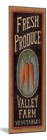 Carrots-Kim Lewis-Mounted Art Print