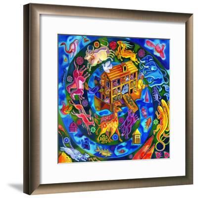 Noah's Ark, 2010-Jane Tattersfield-Framed Giclee Print