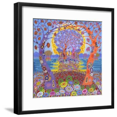 Return to the Welcome Hills, 2014-David Newton-Framed Giclee Print