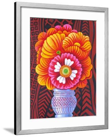Marigolds, 2014-Jane Tattersfield-Framed Giclee Print