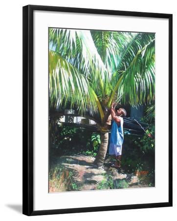 Coconut Shade, 2014-Colin Bootman-Framed Giclee Print