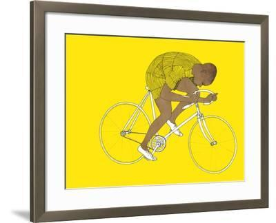 Yellow Major Taylor, 2014-Eliza Southwood-Framed Giclee Print